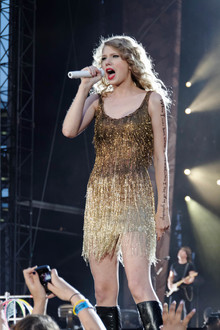 Taylor Swift in Concert.