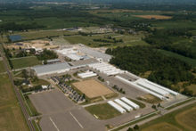 Aerial view of World Equestrian Center.