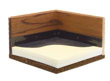 Illustration of ComfortStall bedding.