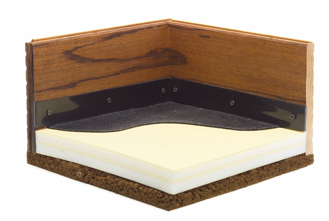 ComfortStall Sealed Orthopedic Flooring.