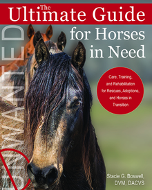 Book Cover - The Ultimate Guide for Horses in Need.