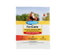Informative packaging of Fencare DeWormer.