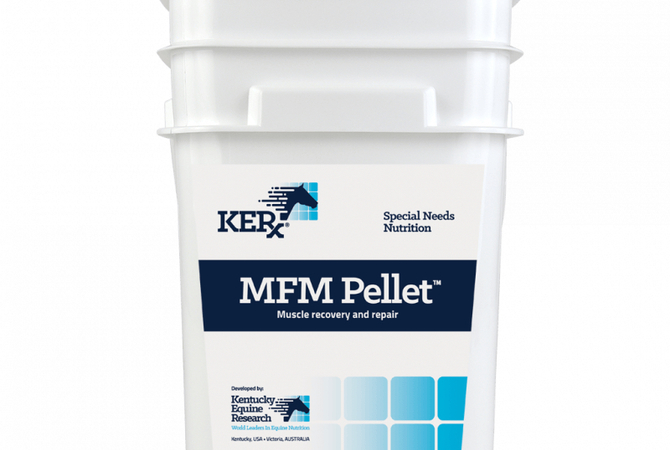 Bucket - MFM Pellet™: Targeted Nutritional Support for Horse Muscle Disease