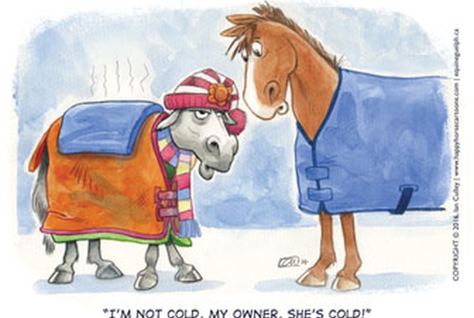 Too much blanketing!