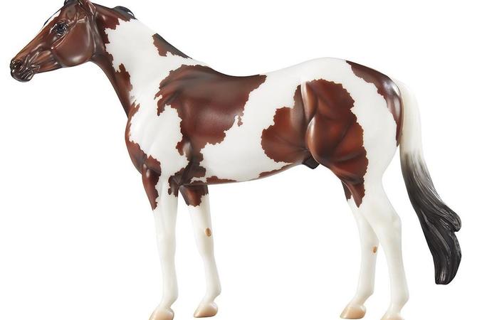 Orren Mixer's ideal American Paint Horse - New Breyer release!