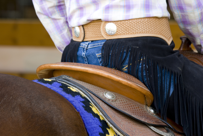 Importance of balance for horse and rider