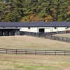 Large equine facility with space to quarantine horses.