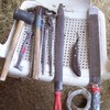 A farrier's tools.