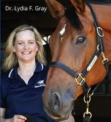 Dr. Lydia Gray, SmartPak's Staff Veterinarian and Medical Director.