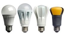Choices in LED bulbs.