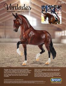 Verdades - Another favorite Breyer horse figure.