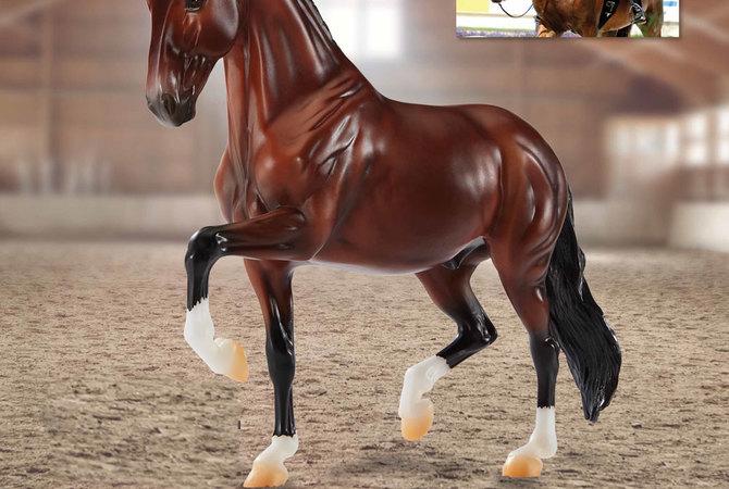 Breyer model of famous horse Verdades