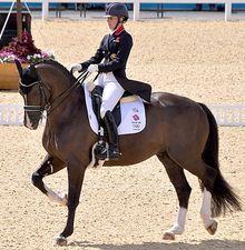 Charlotte Dujardin Gold Medal Winner