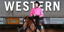 An Intercollegiate Horse Show contestant