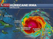 Hurricane Irma threatening people and horses