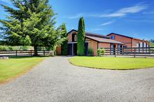 A high-end barn
