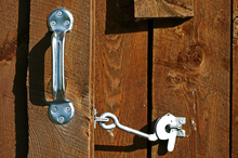Barn door security