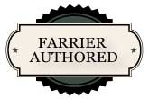 Farrier authored badge
