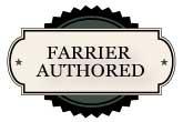 Farrier authored badge
