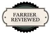 Farrier reviewed.