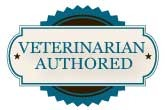 Veterinarian authored badge