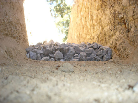Build A French Drain To Improve Barn Drainage Equimed